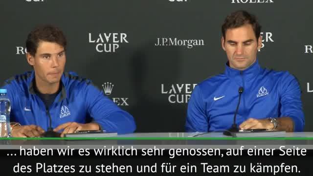 Laver Cup: Federer und Nadal: Es war eine Ehre
