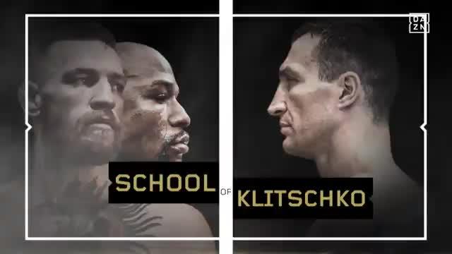 School of Klitschko: Auf McGregors Spuren
