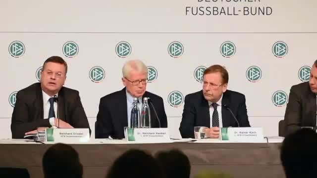WM 2006: Niersbach? So denkt die DFB-Spitze