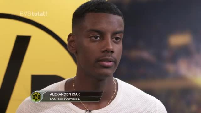 """Isak: """"Dortmund die richtige Wahl für mich"""""""