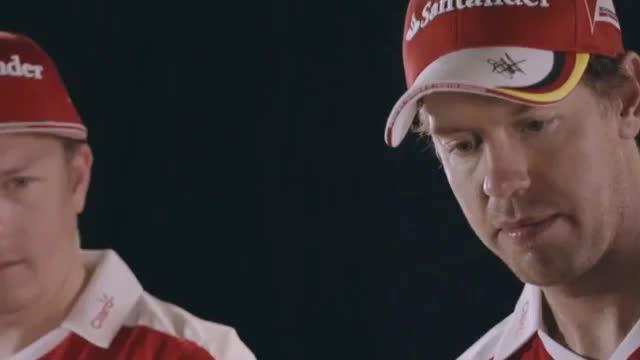 F1: Trompeten-Spaß mit Vettel und Räikkönen