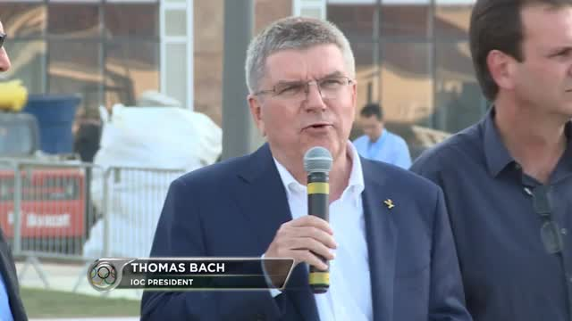 Olympiastart: Bach: Rio wird bereit sein