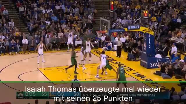 Warriors Turnover besiegeln Celtics-Sieg