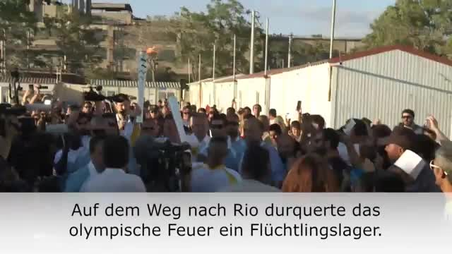 Rio 2016: Feuer passiert Flüchtlingslager