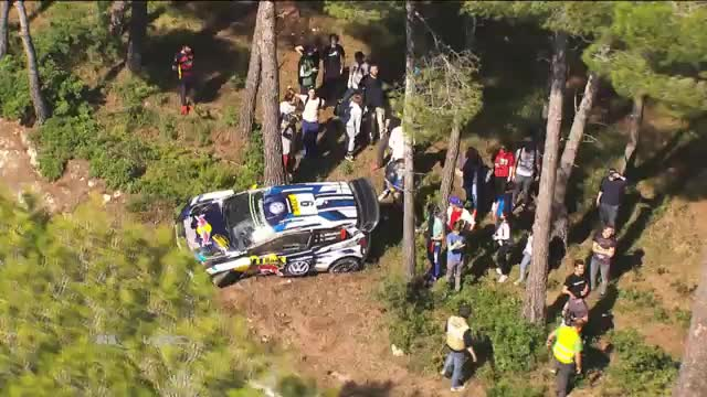 WRC: Spektakulärer Crash mit bösen Folgen