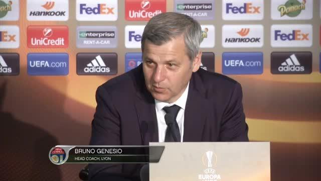 Fan-Krawalle: Das sagt Lyon-Coach Genesio