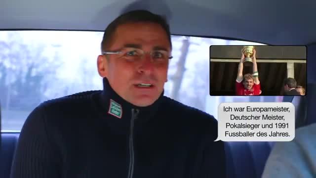 Das Fußball-Texi mit Stefan Kuntz