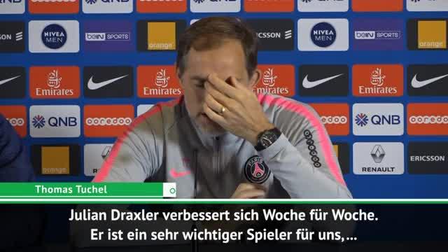 """Tuchel lobt: """"Draxler ist unglaublich"""""""