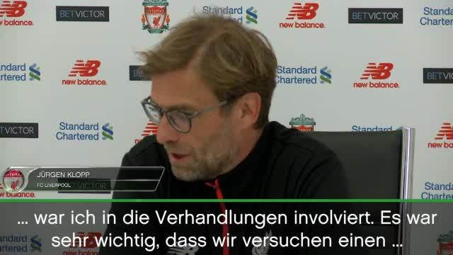 Klopp: So wichtig ist Lallana für Liverpool