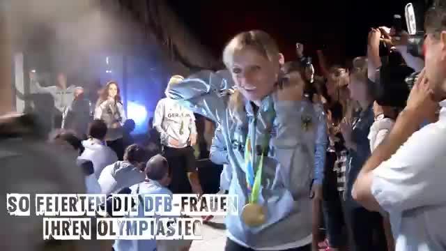 Fußball: Die wilde Party-Nacht der DFB-Frauen