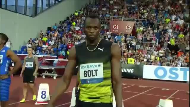 Golden Spike: Bolt sprintet mit Mühe zum Sieg