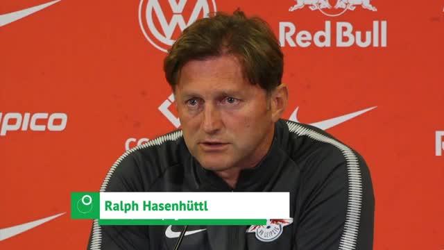 "Hasenhüttl vor BVB: ""Fußball im Mittelpunkt"""