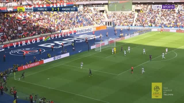 Neymars Trick-Zauberpass gegen Angers