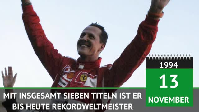 F1: Schumis erster Streich – Weltmeister 1994