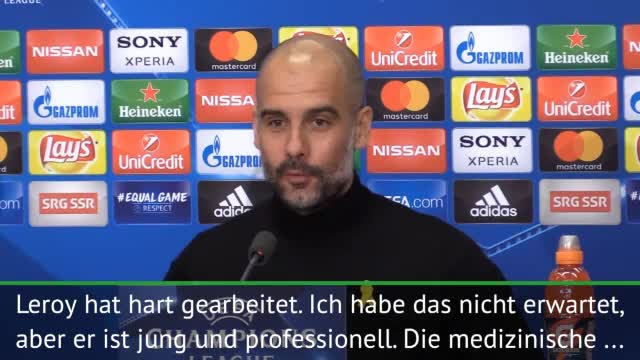 "Guardiola: Sane-Rückkehr? ""Bin überrascht"""