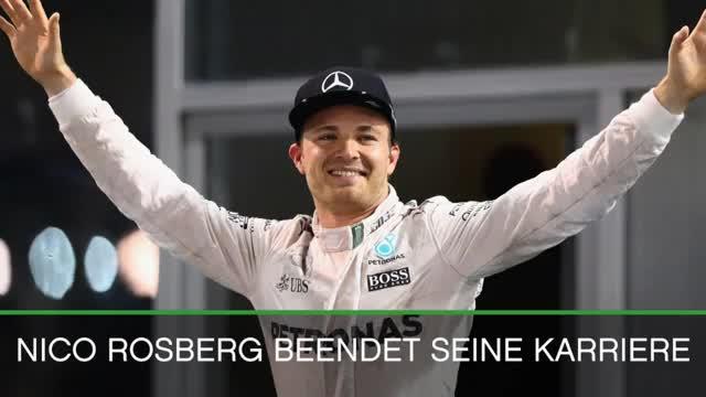 Nach Rücktritt: Rosbergs Karriere-Rückblick