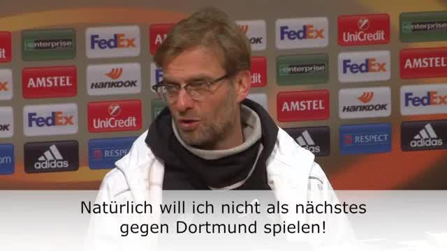 Klopp: Warum sollte ich Dortmund wollen?