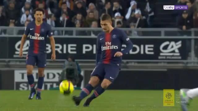 Mbappé zu spritzig für Amiens Hintermannschaft