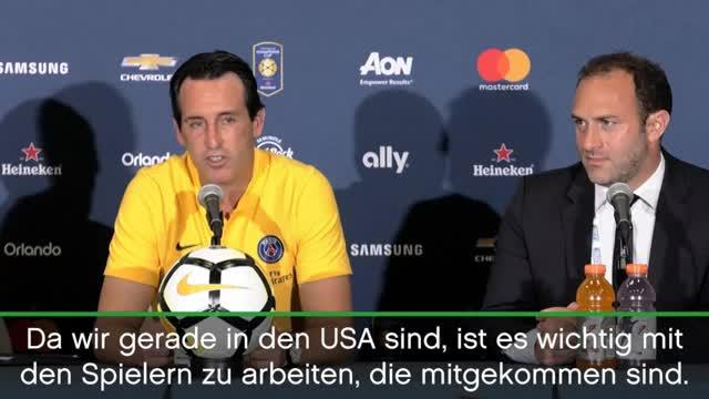 """Emery: """"Natürlich wollen wir Neuzugänge"""""""