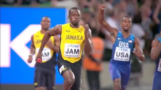 Tag neun in London: Bolt-Karriere endet tragisch