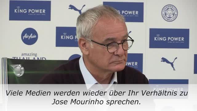 Ranieri: Uniteds wichtigster Mann? Mourinho!