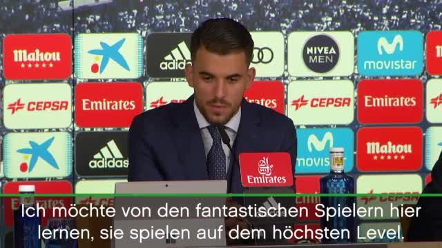 "Real-Neuzugang Ceballos: ""Will wie Kroos sein"""
