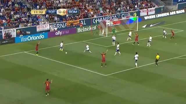 Roma antwortet auf Tottenhams Comeback