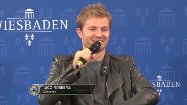 """F1: Rosberg: """"Hamilton muss dran knabbern"""""""