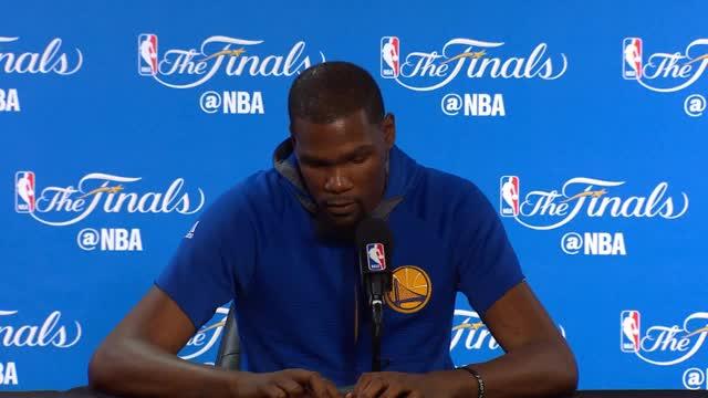 Durant scherzt über sein bestes Karrierejahr