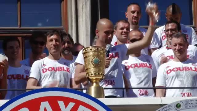 Pep is back! Guardiola mit ManCity in München
