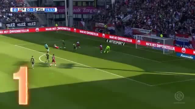 PSV macht Utrecht mit sieben Toren platt