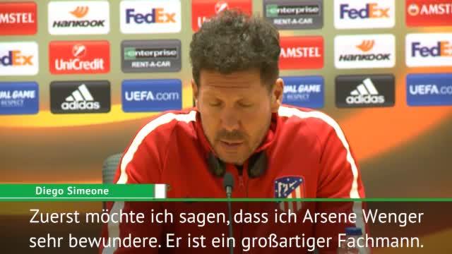 """Simeone: """"Ich bewundere Arsene Wenger sehr"""""""