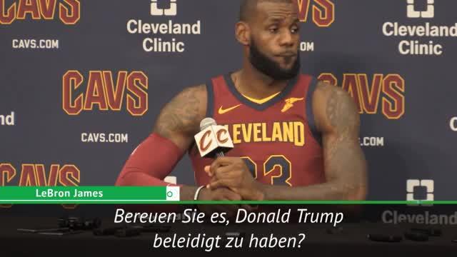 LeBron: Trump missbraucht unseren Sport