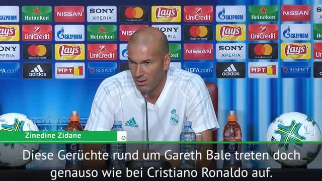 """Zidane: Bale-Gerüchte """"werden nichts ändern"""""""