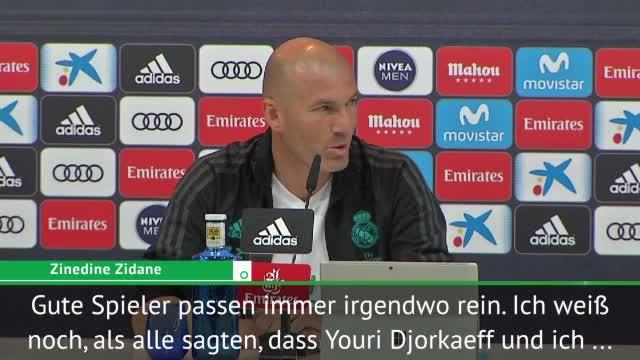 Zidane über Neymar-Gerüchte: Passt immer irgendwo rein