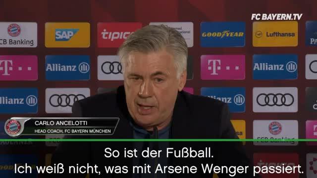 Wengers Arsenal-Zukunft? So denkt Ancelotti