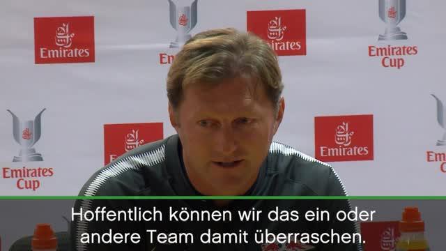 """Hasenhüttl: """"Können jedes Team schlagen"""""""