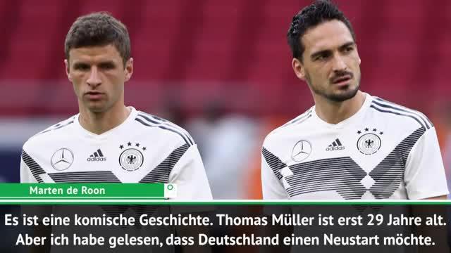 Oranje-Star zu Müller-Aus: Komische Geschichte