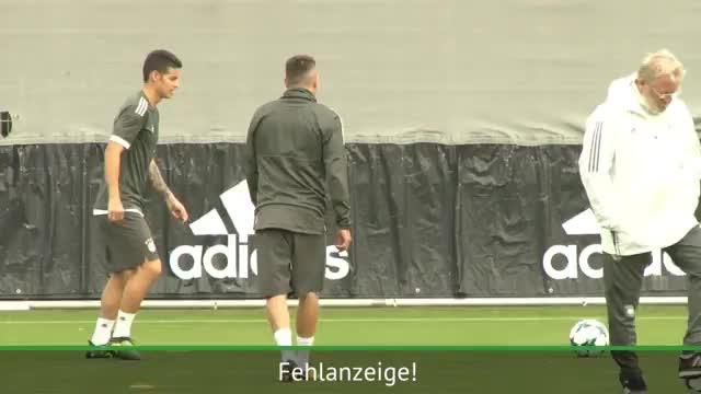 Trotz Hoffenheim-Pleite: Gute Laune beim FCB