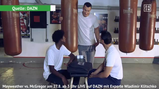 School of Klitschko: Tapen mit Alaba