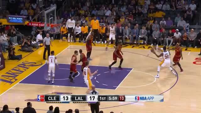 Irving schlägt Lakers mit starkem Russell