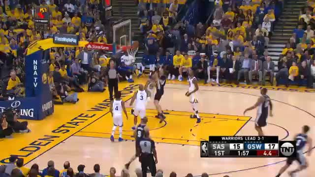 4:1! Durant und Thompson erlegen Spurs
