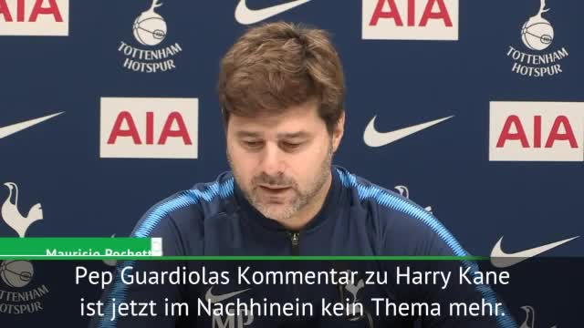 "Pochettino: ""Werde Guardiola normal begrüßen"""