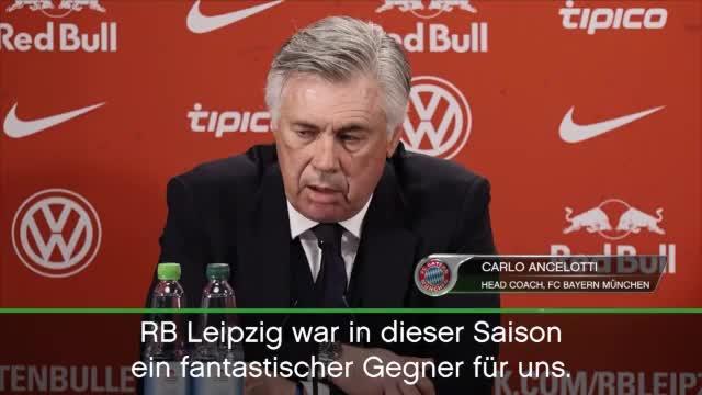 """Ancelotti über Leipzig: """"War erst der Anfang"""""""