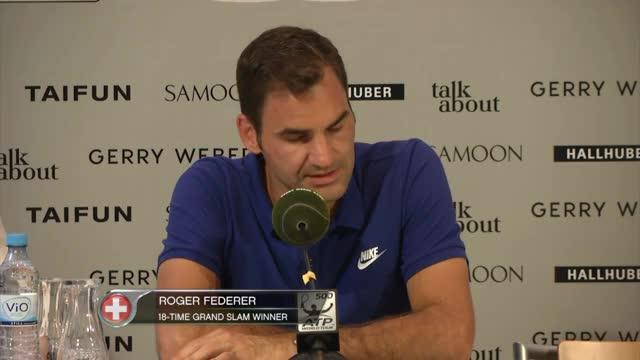 Halle: Federer über mögliche Wimbledon-Sieger