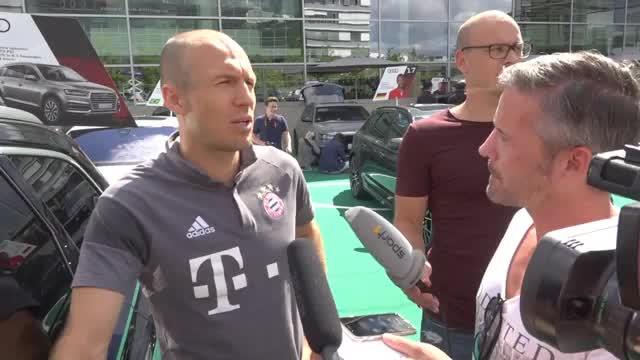 """Robben über Verletzung: """"Habe gutes Gefühl"""""""