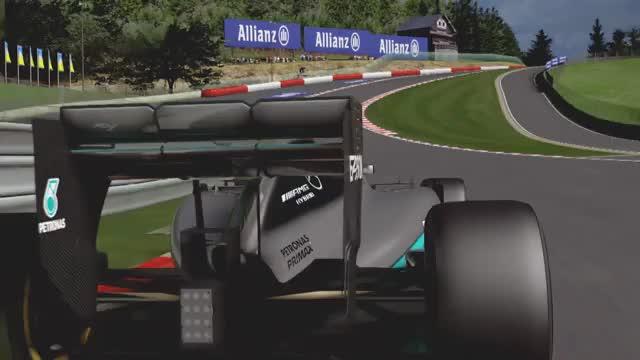 72 % Vollgas - Rosberg erklärt die Strecke in Spa