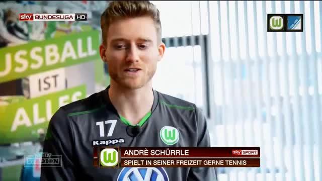 Wie war Andre Schürrle in der Schule?
