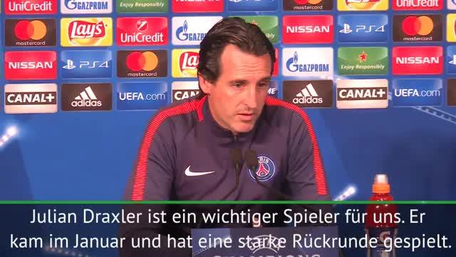 """Emery: """"Draxler sehr wichtig für uns"""""""
