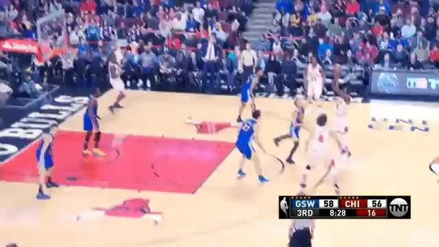 Anklebraker! Grant düpiert MVP Curry